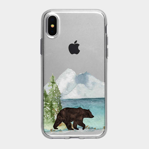 Grizzly Mountain Lake iPhone Case from Tiny Quail