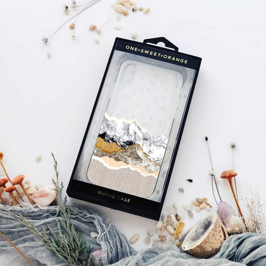 Mountains iPhone Case in box by Onesweetorange