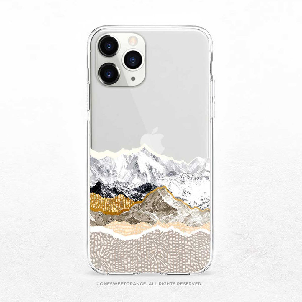 Mountains iPhone Case by Onesweetorange