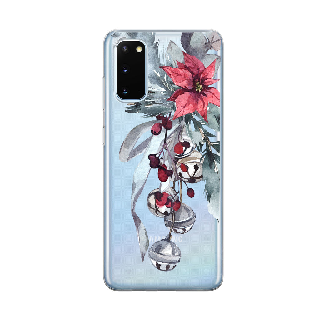 Christmas Bells Bouquet Samsung Galaxy Phone Case from Tiny Quail