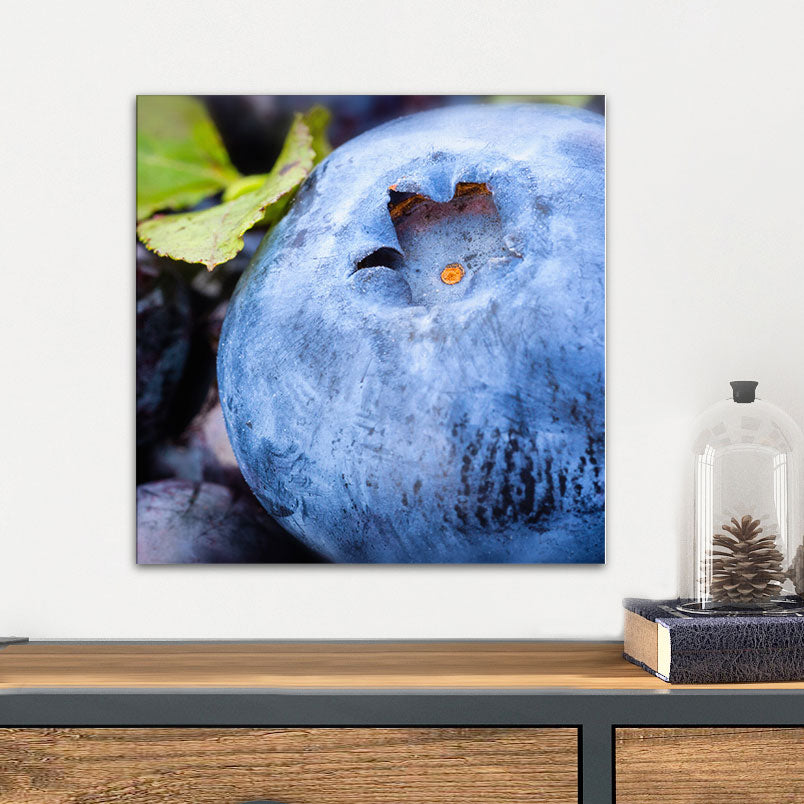 Blueberry Glass Photo Wall Art From Tiny Quail