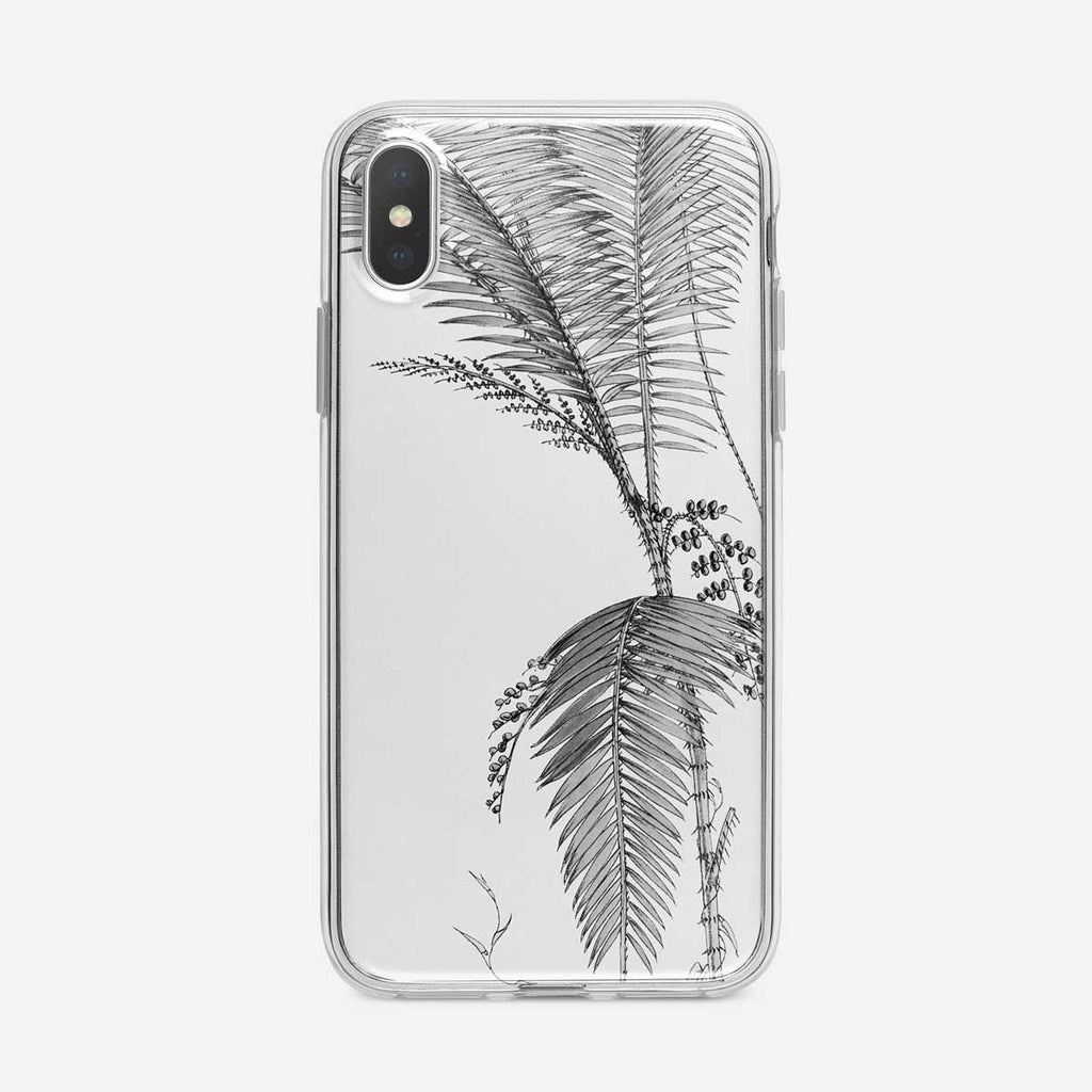 Botanical Tropical Fern iPhone Case by Tiny Quail