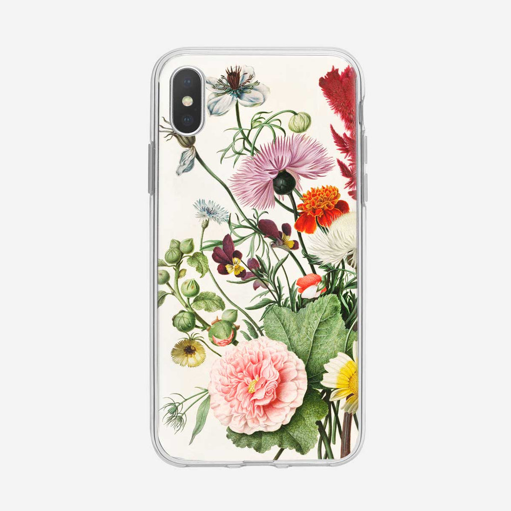 Beautiful Botanical Floral Bouquet iPhone Case from Tiny Quail