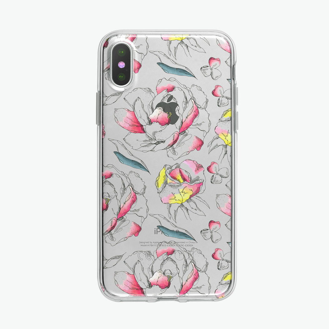 Floral Pen Botanical iPhone Case from Tiny Quail