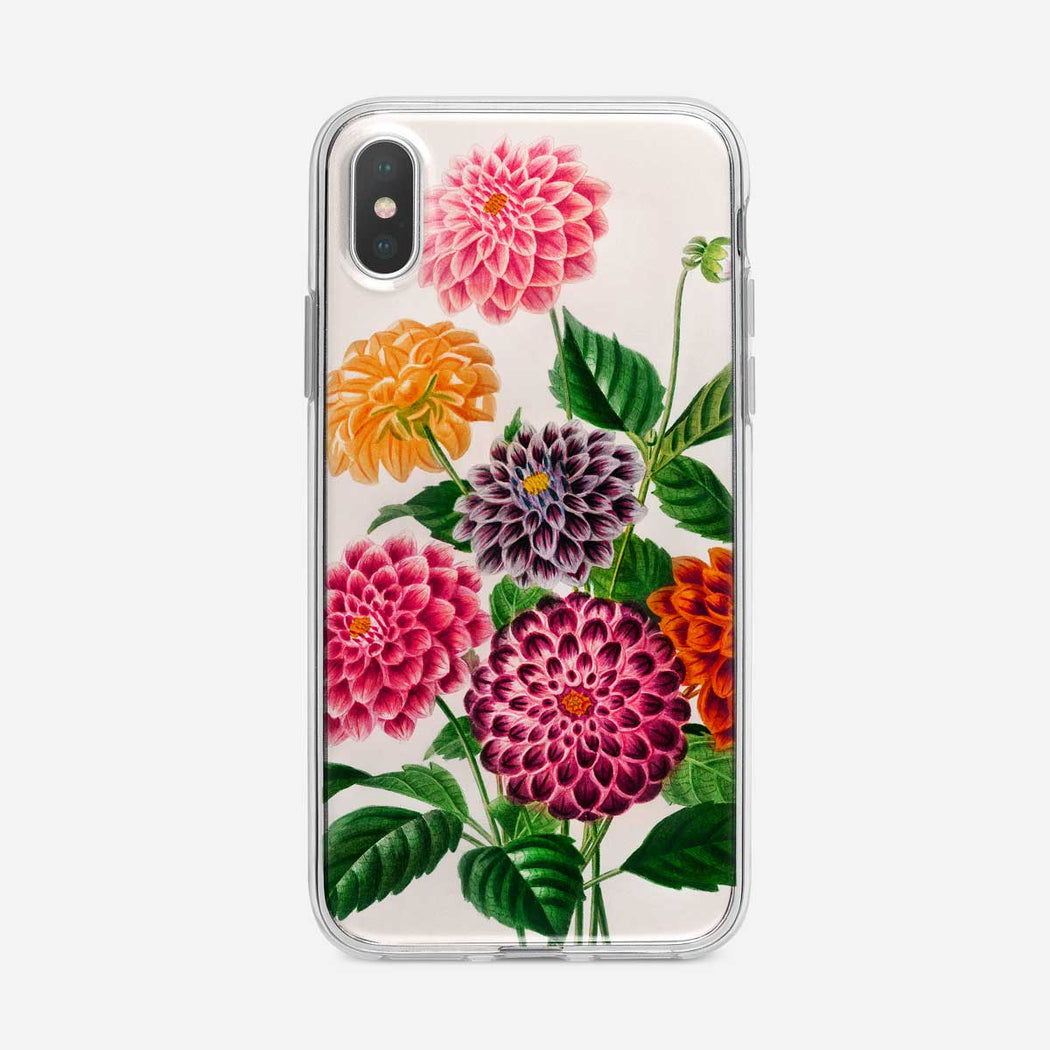 Botanical Painted Mums iPhone Case from Tiny Quail