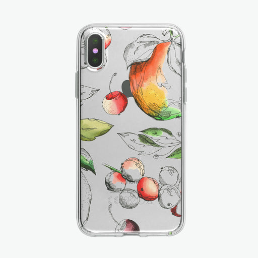 Fruit Pen and Ink Botanical iPhone Case from Tiny Quail