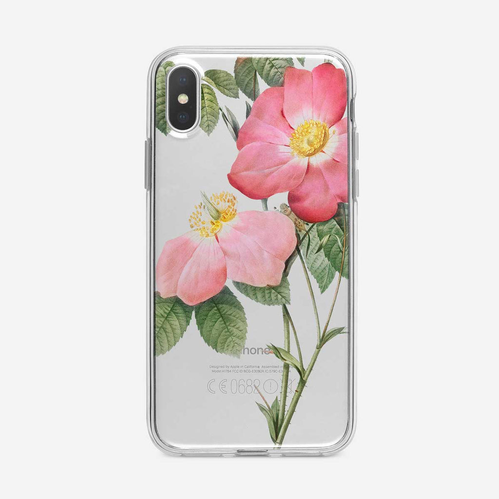 Botanical Tea Roses iPhone Case from Tiny Quail