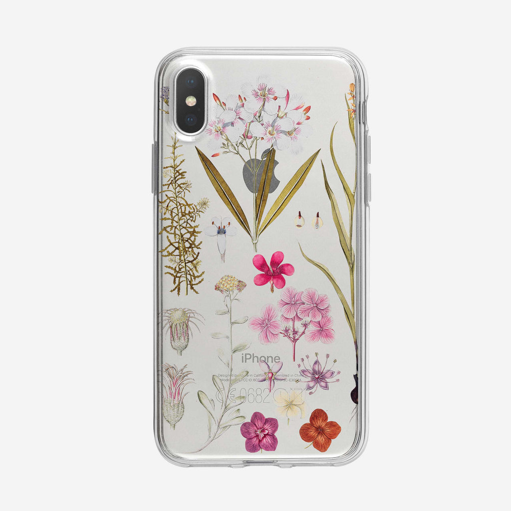 Bold and Colorful Botanical iPhone Case from Tiny Quail