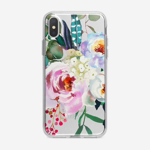 Beautiful Flowers Bouquet Clear iPhone Case by Tiny Quail