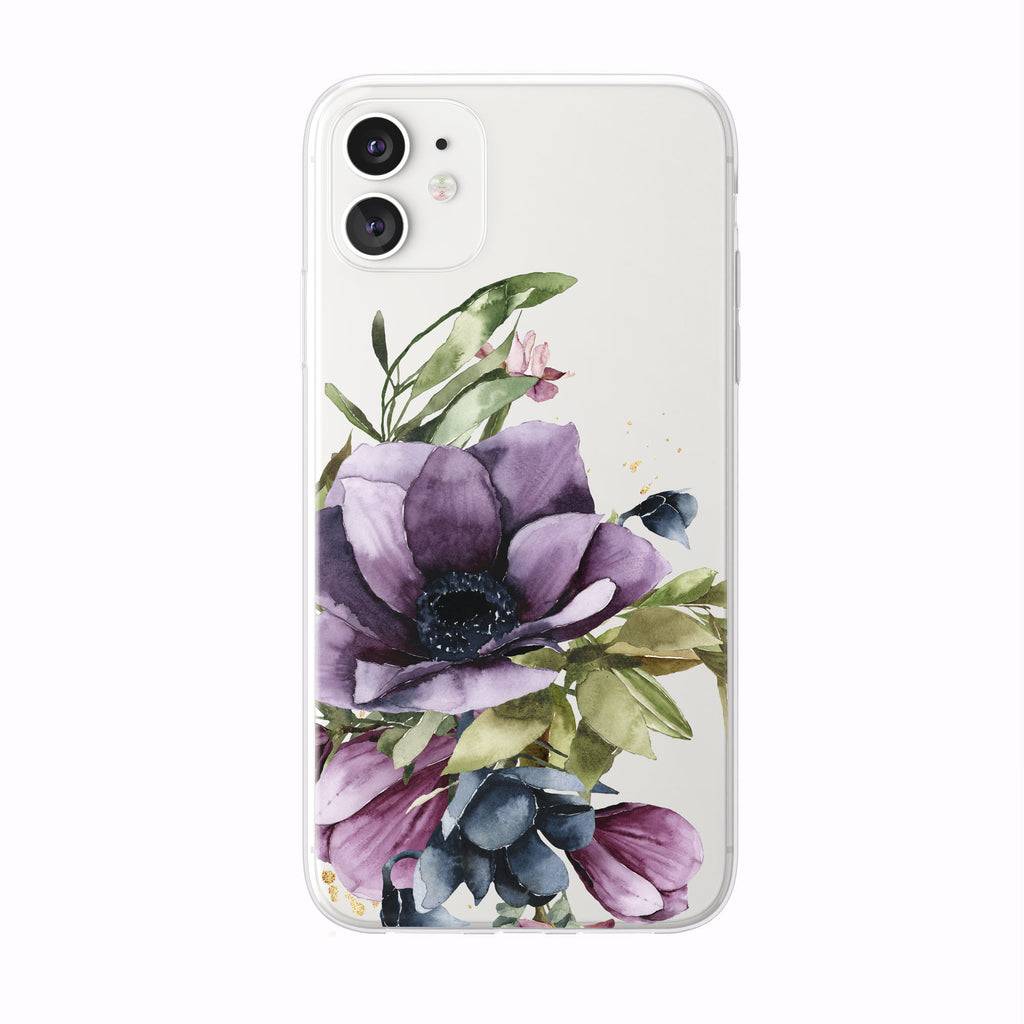 Tulip Iris Bouquet Floral iPhone Case from Tiny Quail