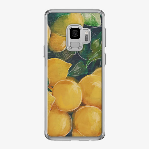 Bright Lemons Samsung Galaxy Phone Case by Tiny Quail