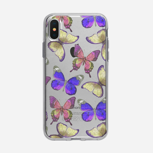 Soaring Watercolor Butterflies iPhone Case from Tiny Quail