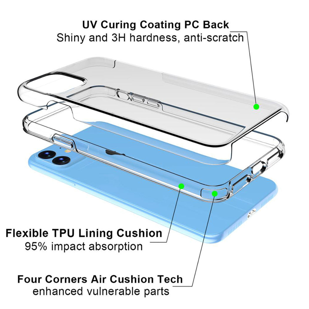 Crystal Clear iPhone Case Specs from Tiny Quail