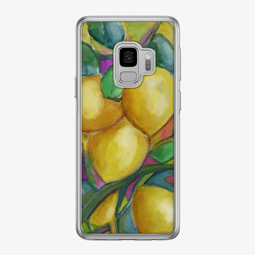 Colorful Lemons Samsung Galaxy Phone Case by Tiny Quail