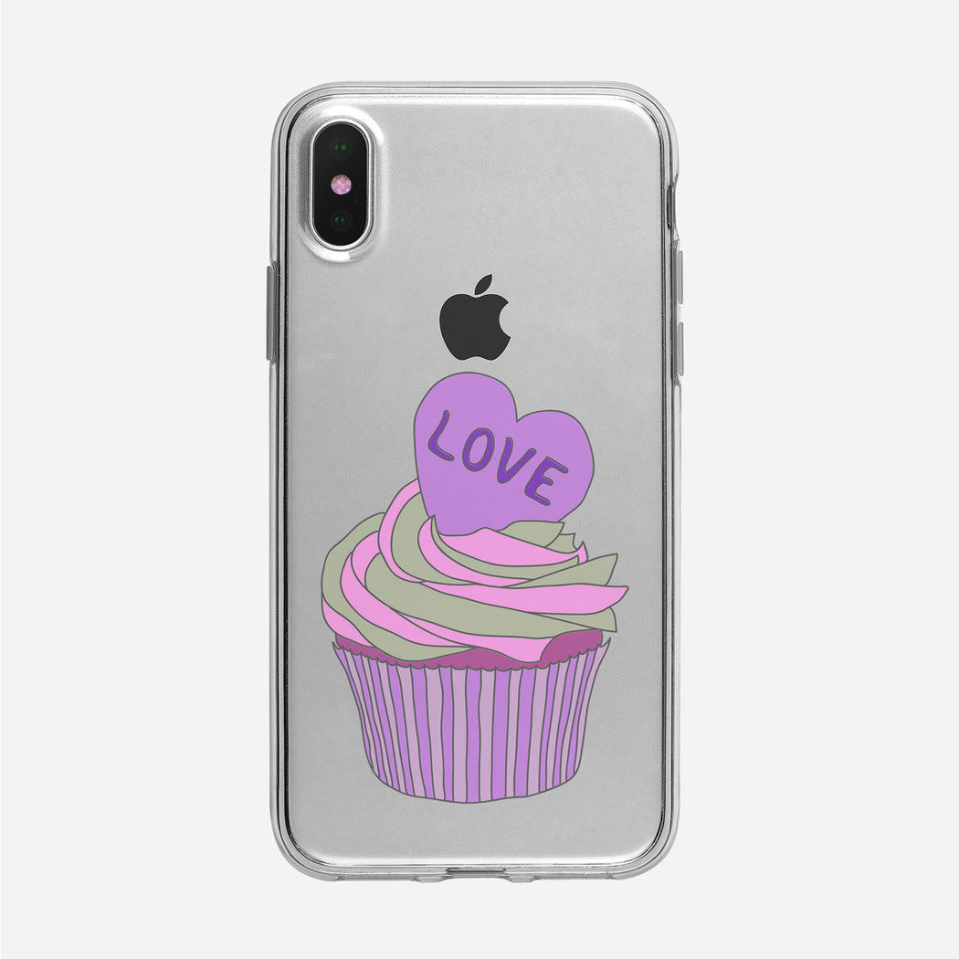 Cupcake Love iPhone Case from Tiny Quail
