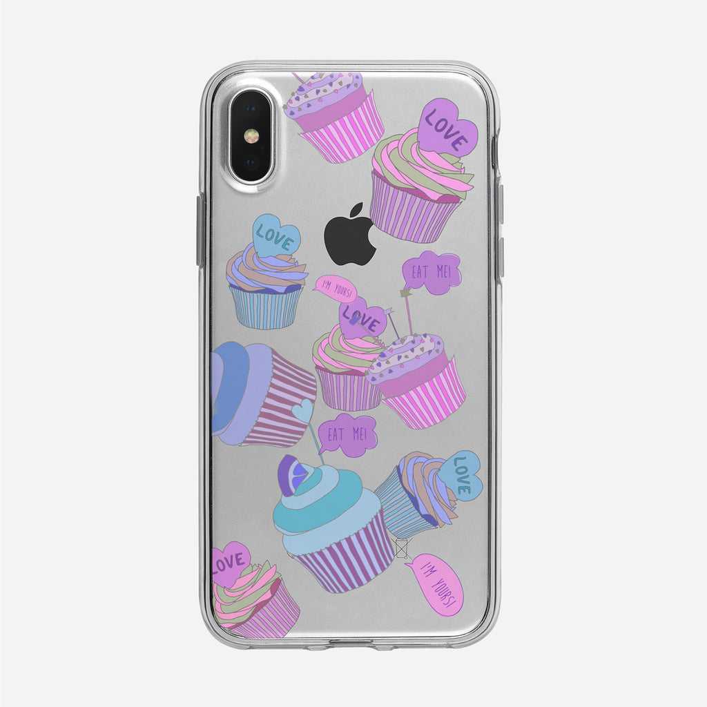 Cupcake Pattern iPhone Case from Tiny Quail