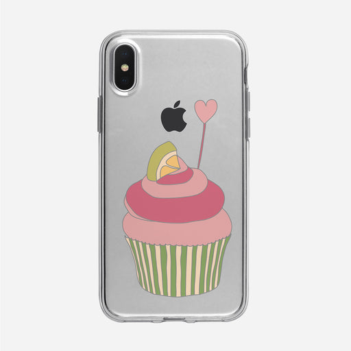 Cupcake Heart iPhone Case from Tiny Quail
