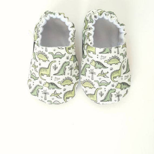 Dinos Organic Baby Shoes Moccs by Weepereas