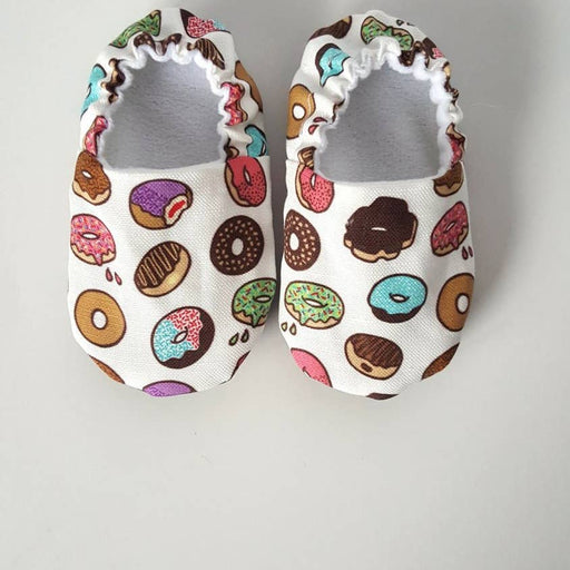 Donuts Organic Baby Shoes Moccs by Weepereas