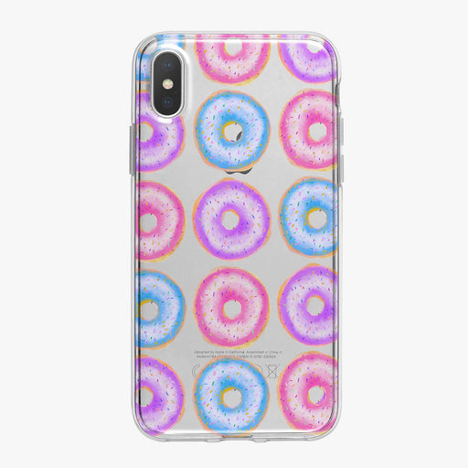 Colorful Donuts Designer iPhone Case From Tiny Quail