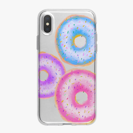 Colorful Donuts, I Love Donuts Designer iPhone Case From Tiny Quail