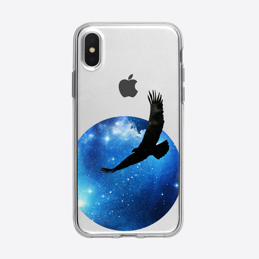 Cosmic Soaring Eagle iPhone Case from Tiny Quail