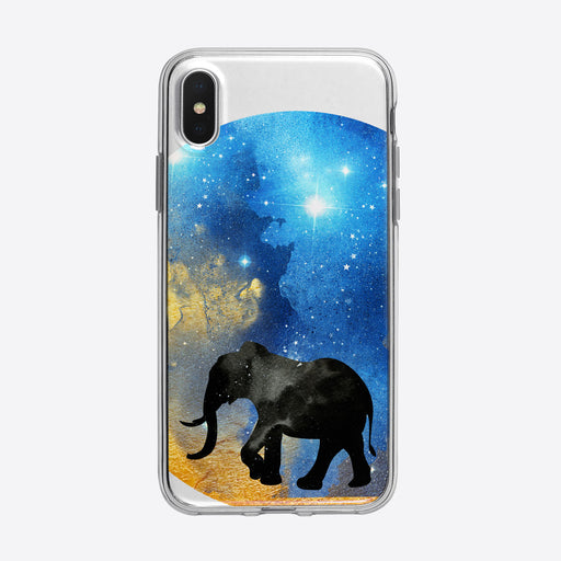 Cosmic Elephant iPhone Case from Tiny Quail