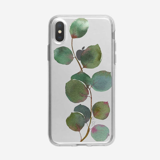 Eucalyptus Branch iPhone Case by Tiny Quail