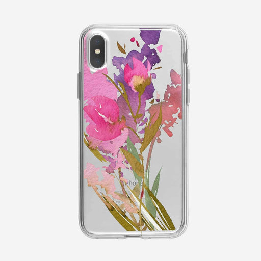 Floral Collage 3 Clear iPhone Case From Tiny Quail
