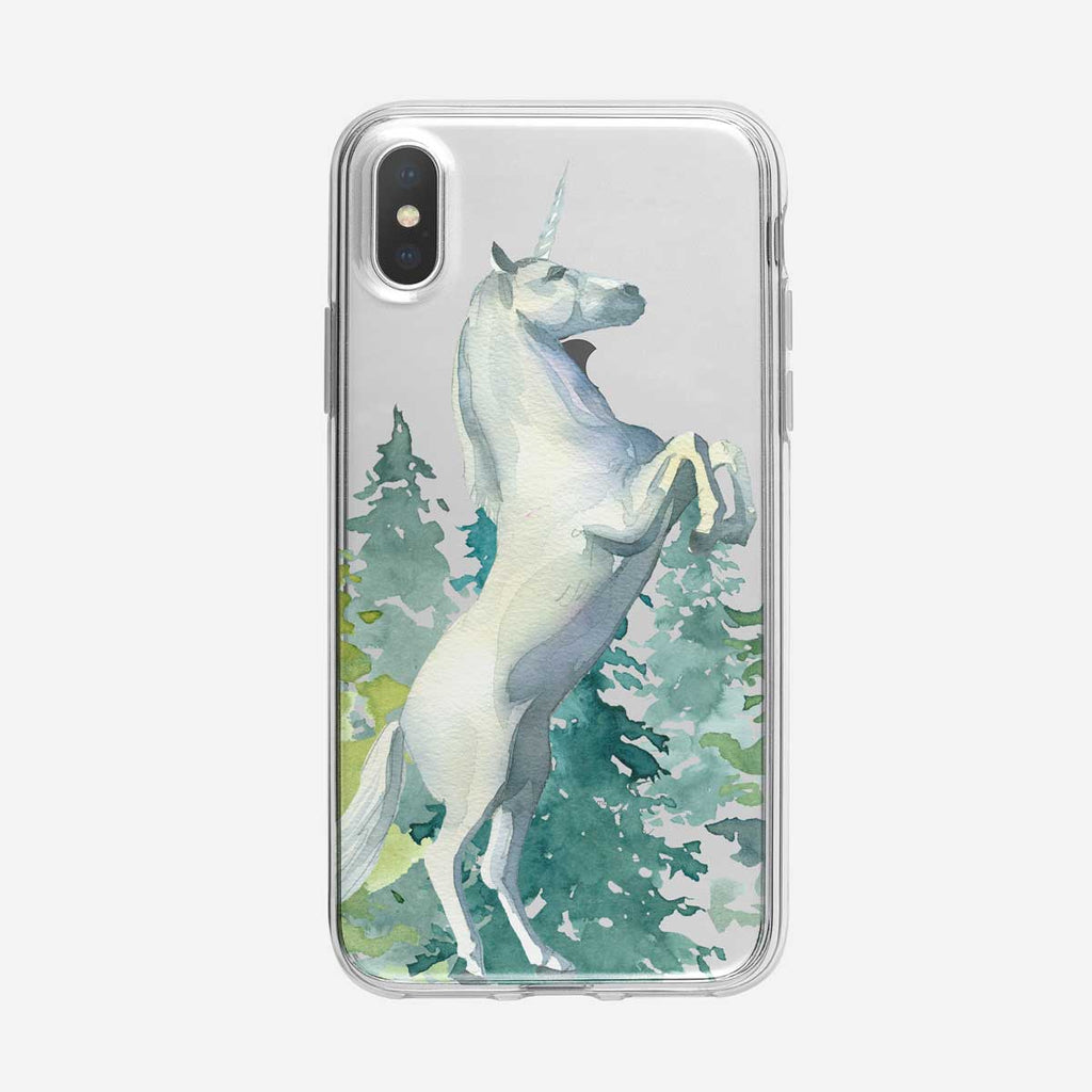 Majestic Forest Unicorn iPhone Case from Tiny Quail