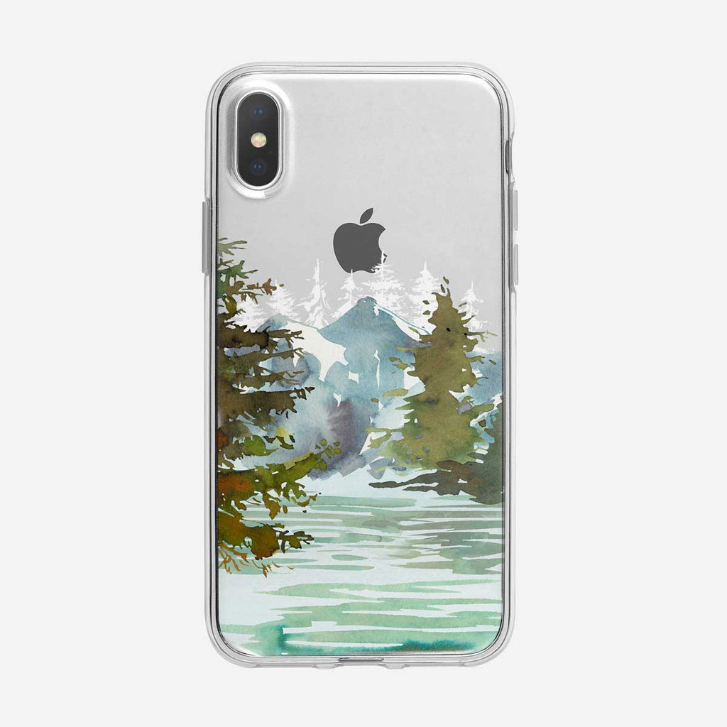 Forest Lake iPhone Case from Tiny Quail