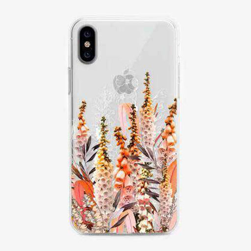 Foxgloves Floral Designer iPhone Case by Onesweetorange