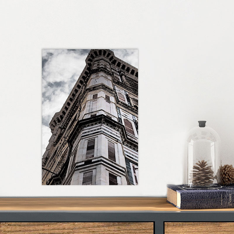 Black and White Paris Building Glass Photo Wall Art From Tiny Quail
