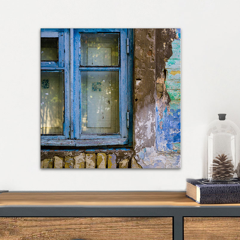Old World Window Glass Wall Art From Tiny Quail
