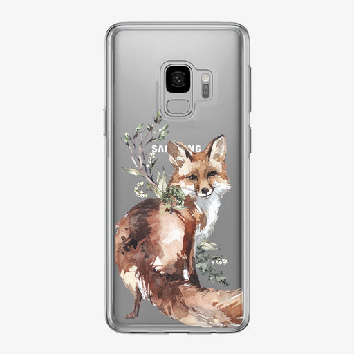 Friendly Woodland Fox Samsung Galaxy Phone Case from Tiny Quail