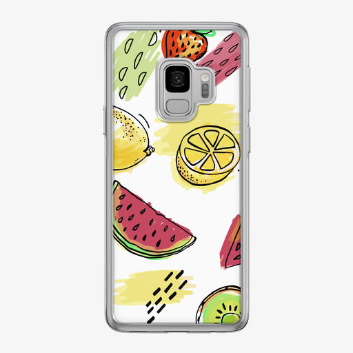 Summer Fruit and Colors Samsung Galaxy Phone Case by Tiny Quail