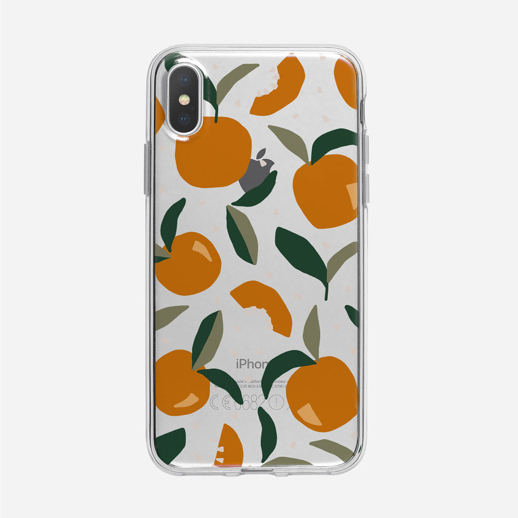 Funky Tuscan Inspired Clear iPhone Case from Tiny Quail