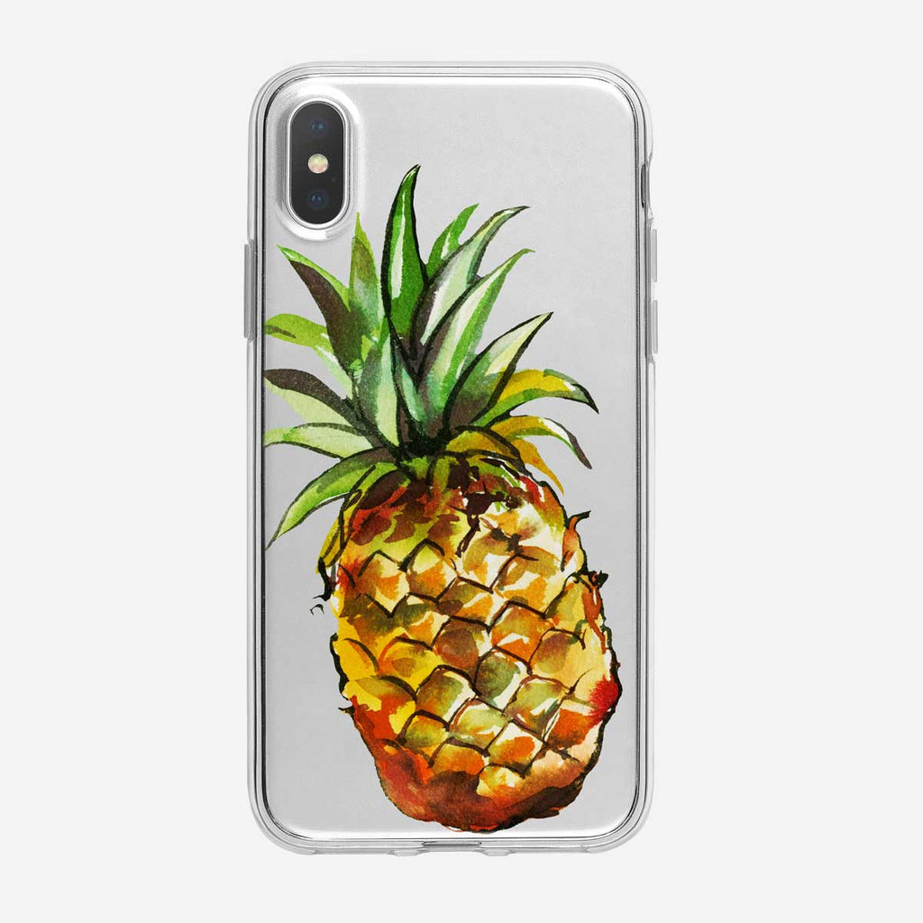 Graphic Pineapple iPhone Case from Tiny Quail