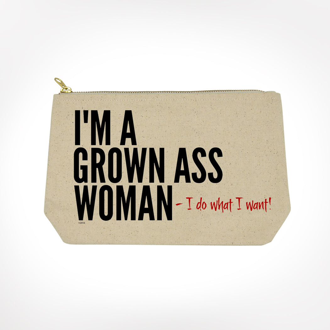 I'm a Grown As Woman Funny Bitch Bag From Twisted Wares