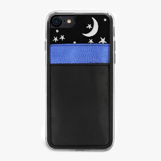 Moon and Stars Nightsky Wallet Designer iPhone Case From Zero Gravity