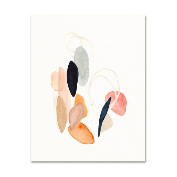 Modern Abstract Minimalist Art Print