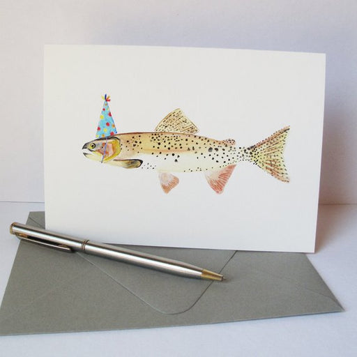 Trout Birthday Card