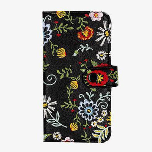 Flowers Jardin Wallet Designer iPhone Case From Zero Gravity