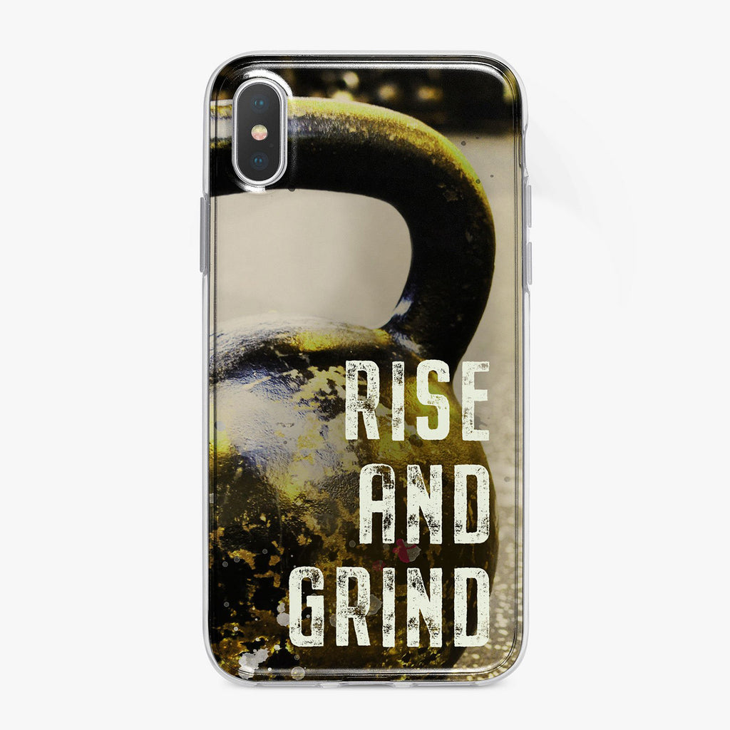 Rise and Grind Fitness Designer iPhone Case From Tiny Quail