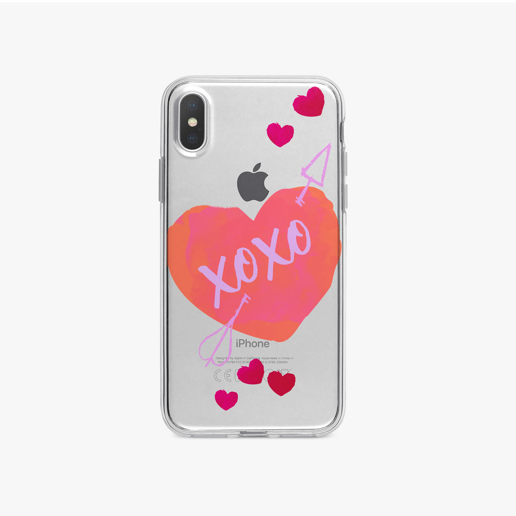 Cupid Heart iPhone Case by Tiny Quail