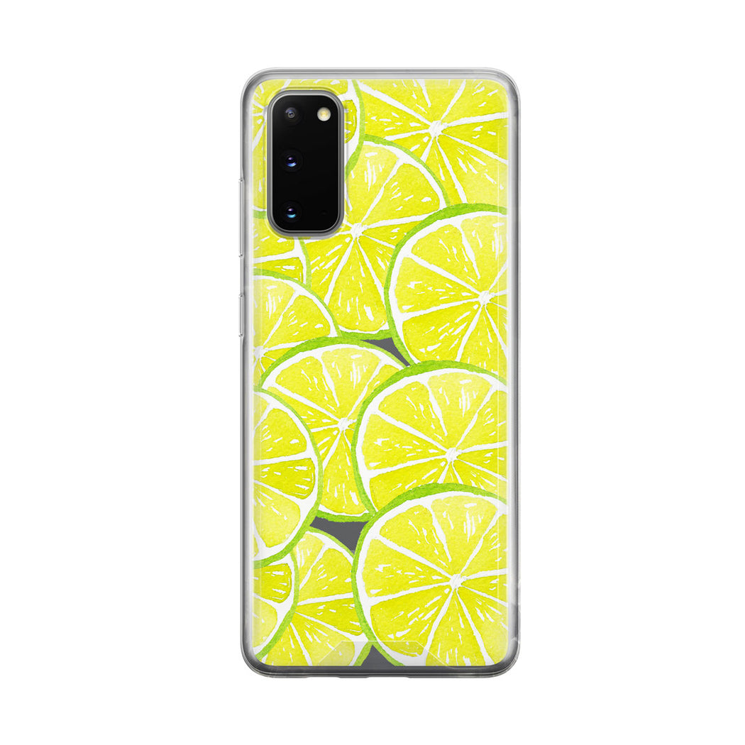 Lime Explosion Samsung Galaxy Phone Case from Tiny Quail
