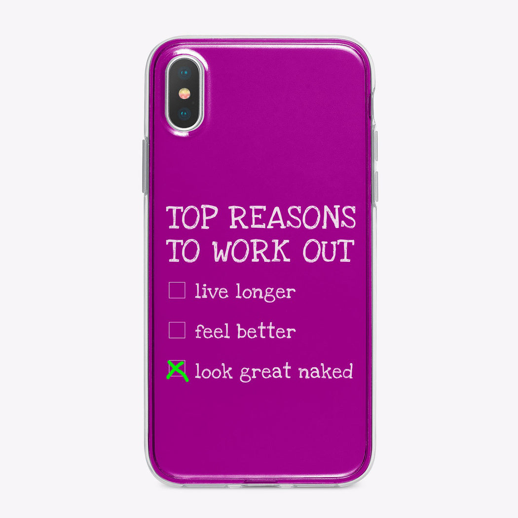 Top Reasons to Work Out Fitness Designer iPhone Case From Tiny Quail