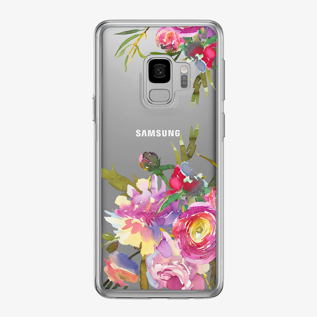 Artistic Floral Samsung Galaxy Phone Case from Tiny Quail
