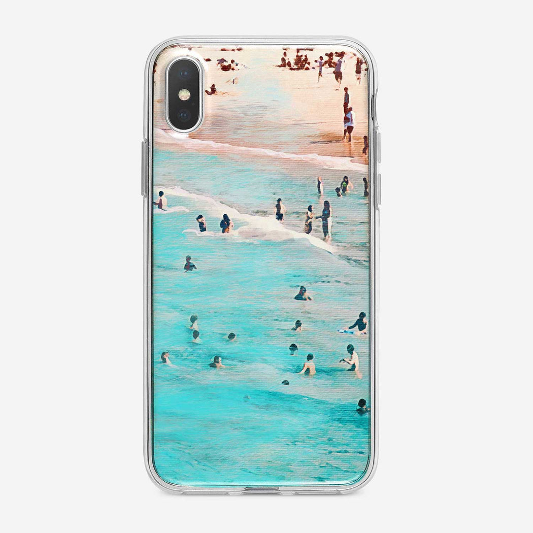 Ocean Beach iPhone Case by Tiny Quail