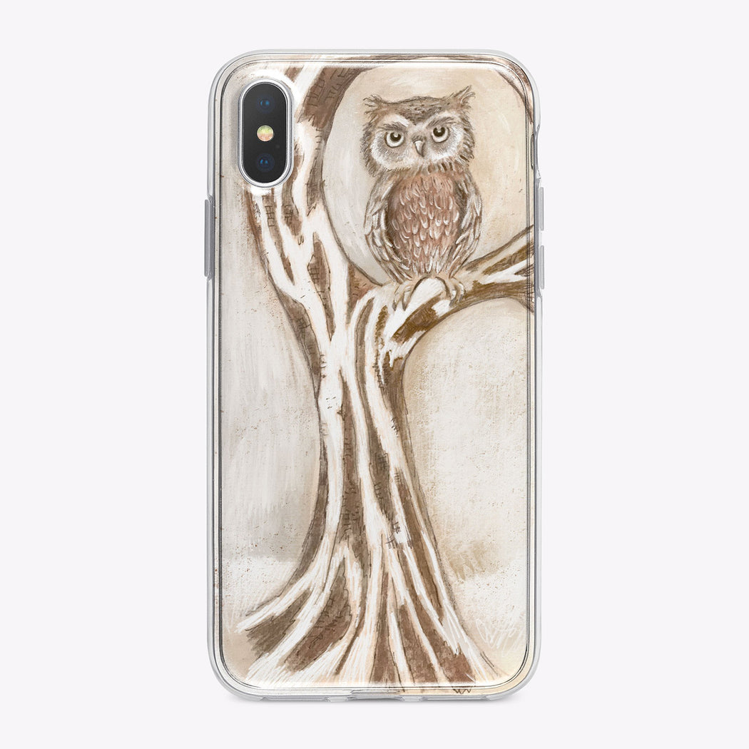 Owl in a Tree Designer iPhone Case From Tiny Quail
